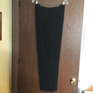 Black traveler pants